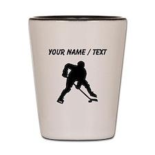 Hockey Player (Custom) Shot Glass