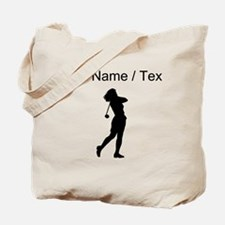 Woman Golfer (Custom) Tote Bag