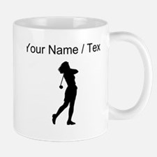 Woman Golfer (Custom) Mugs