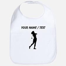 Woman Golfer (Custom) Bib