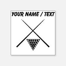 Billiards (Custom) Sticker