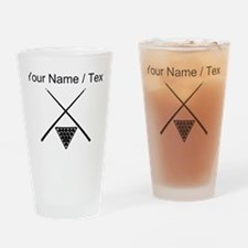 Billiards (Custom) Drinking Glass