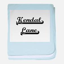 Kendal Lane Classic Retro Design baby blanket