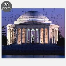 Thomas Jefferson Memorial at Dusk Puzzle