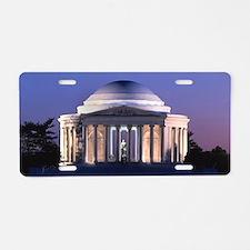 Thomas Jefferson Memorial a Aluminum License Plate