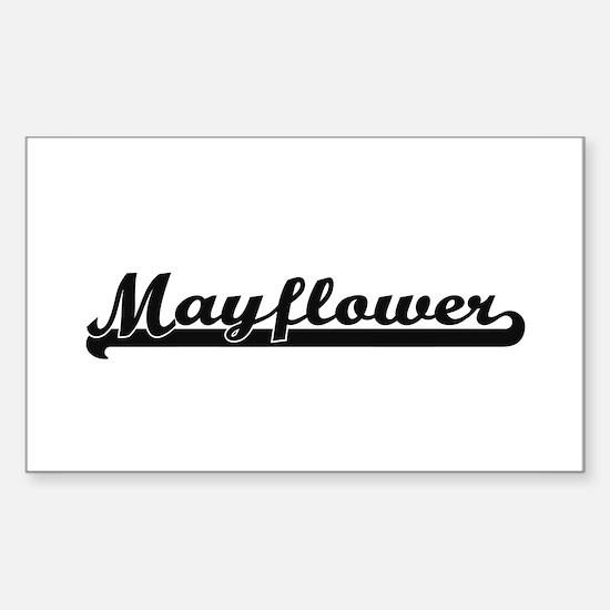 Mayflower Classic Retro Design Decal