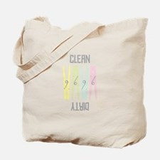 Clean Dirty Tote Bag