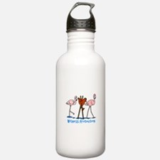 Witness Protection Fla Water Bottle
