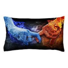 Cute Blue flame Pillow Case