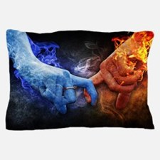 Unique Fire and ice Pillow Case