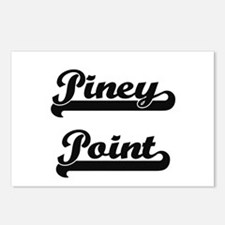 Piney Point Classic Retro Postcards (Package of 8)
