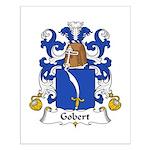 Gobert Family Crest Small Poster
