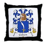 Gobert Family Crest Throw Pillow