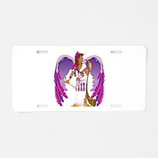 St. Gabriel Aluminum License Plate