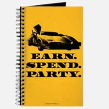 EARN SPEND PARTY Journal