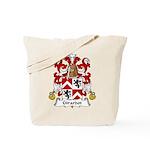 Girardot Family Crest Tote Bag