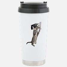 Kitten Graduation Travel Mug