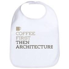 Coffee Then Architecture Bib