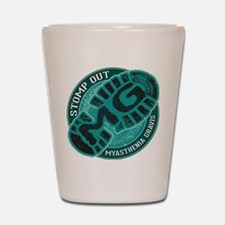 Stomp Out MG Inc Shot Glass