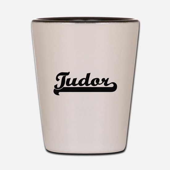 Tudor Classic Retro Design Shot Glass