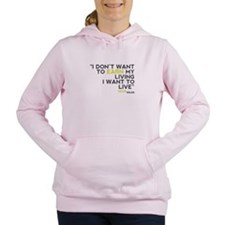Wilde Quote Women's Hooded Sweatshirt