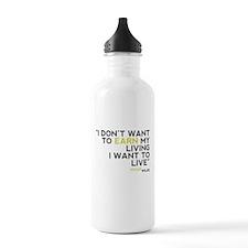 Wilde Quote Water Bottle