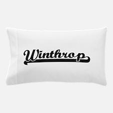 Winthrop Classic Retro Design Pillow Case