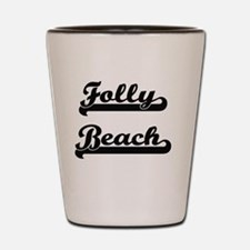 Funny Folly beach Shot Glass