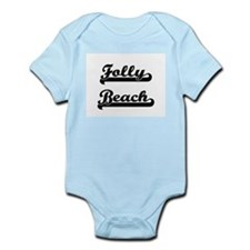 Folly Beach Classic Retro Design Body Suit
