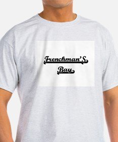 Frenchman'S Bay Classic Retro Design T-Shirt