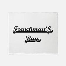 Frenchman'S Bay Classic Retro Design Throw Blanket