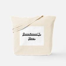 Frenchman'S Bay Classic Retro Design Tote Bag