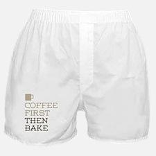 Coffee Then Bake Boxer Shorts