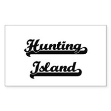 Hunting Island Classic Retro Design Decal