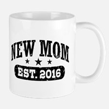 New Mom Est. 2016 Mug