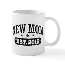 New Mom Est. 2016 Small Small Mug