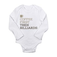 Coffee Then Billiards Body Suit