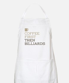Coffee Then Billiards Apron