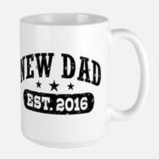 New Dad Est. 2016 Mug