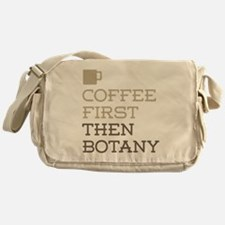 Coffee Then Botany Messenger Bag