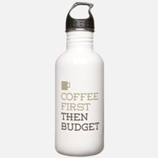 Coffee Then Budget Water Bottle