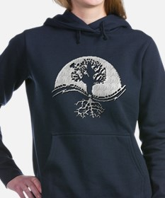 Cute Tree of life Women's Hooded Sweatshirt