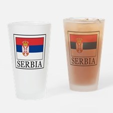 Serbia Drinking Glass
