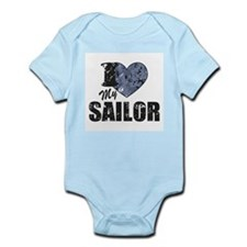 I Love My Sailor Body Suit