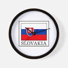 Slovakia Wall Clock