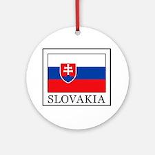Slovakia Ornament (Round)