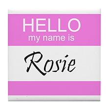 Rosie Tile Coaster