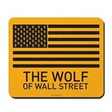 Wolf of wall street Mouse Pads