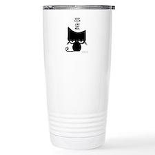 Keep Calm & Just Say Meh - Cat Travel Mug