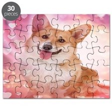 Smiling Corgi Valentine Puzzle